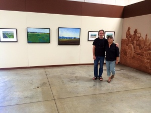 Cal Ag Museum Artist Bud Gordon and wife